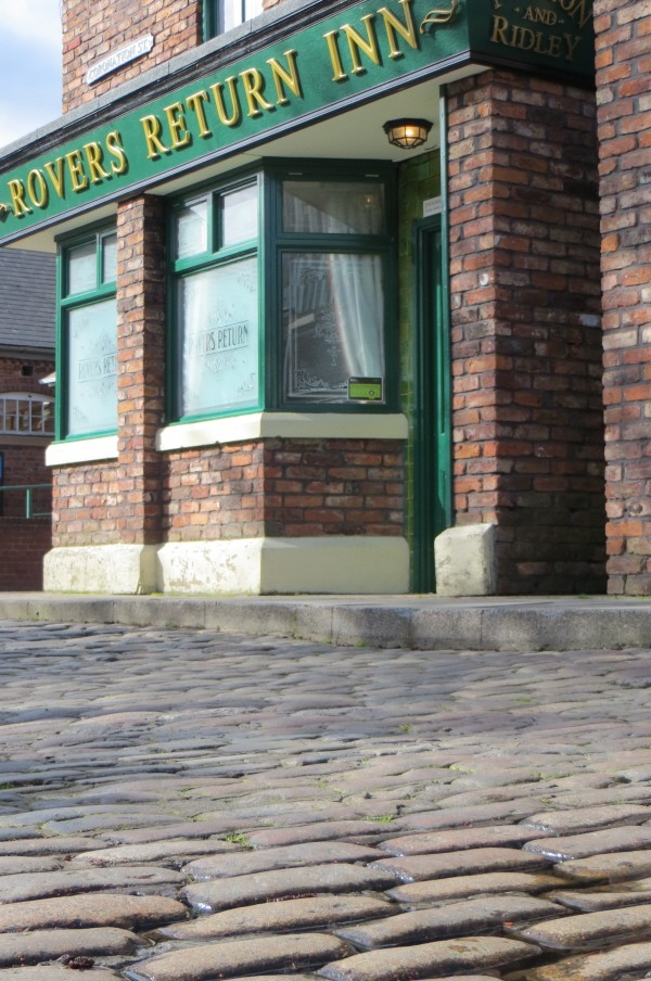 The Rovers on Coronation Street