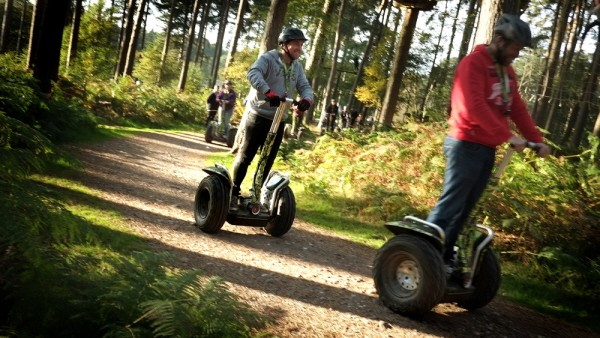 Segways at Go Ape