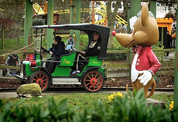 children's rides at Gulliver's Theme Park
