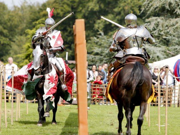 Medieval festival at Leeds Castle