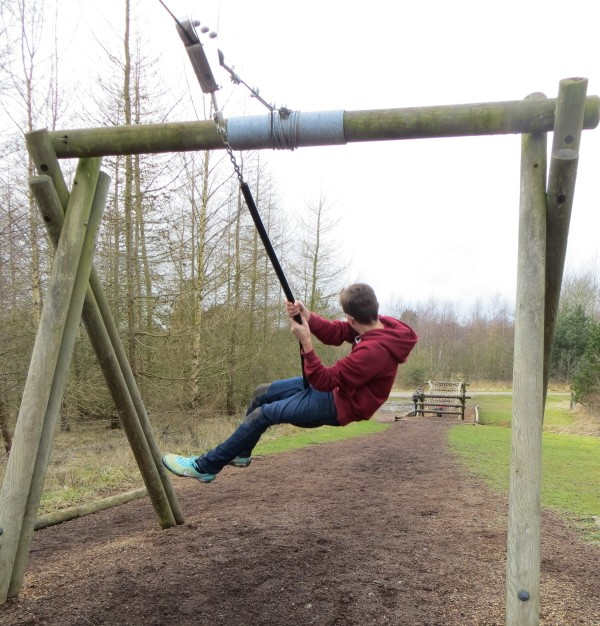 assault course at Conkers