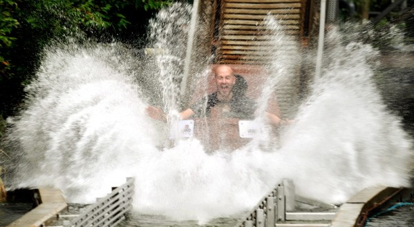 Legoland Windsor log flume