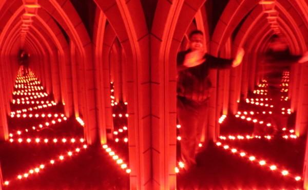 Mirror maze at Riplye's London