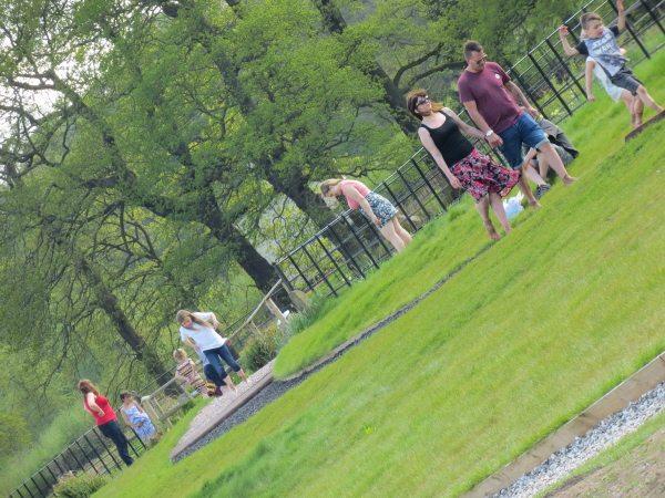 Trentham Gardens Barefoot Walk & gardens