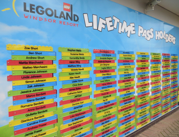 legoland windsor lifetime pass