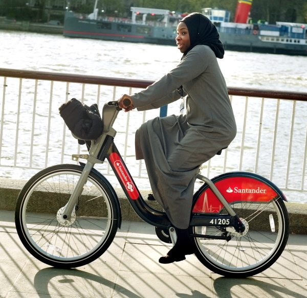 Free use of bikes in London with Santander Cycles