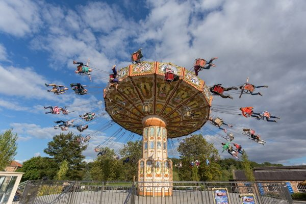 skyrider attraction at lightwater valley theme park