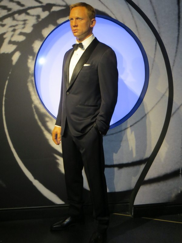 Madame Tussauds James Bond London 600