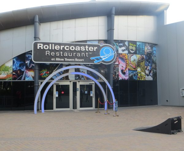 new rollercoaster restaurant at alton towers theme park