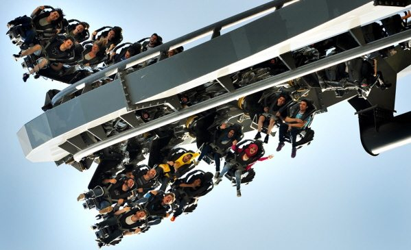 Swarm the ride at thorpe park