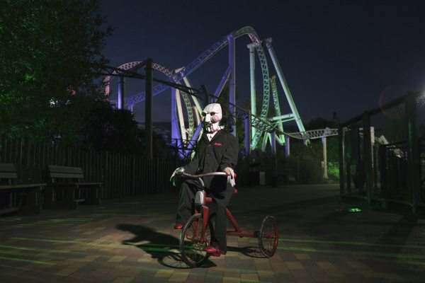Saw at fright nights at thorpe Park