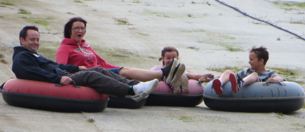 Swadlincote Snow Tubing - stay play explore break