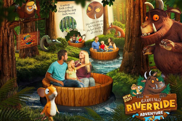 chessington world of adventures the gruffalo river ride adventure