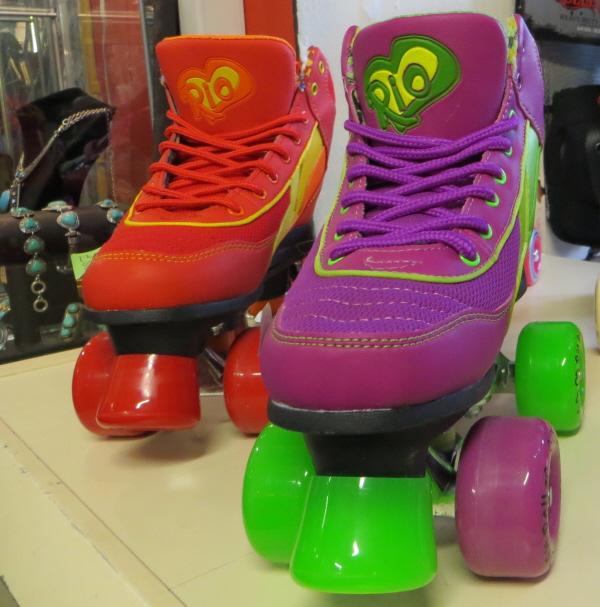 Afflecks shopping roller boots