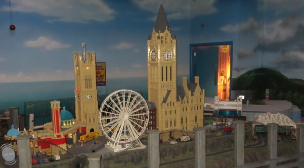 miniland at Legoland discovery centre