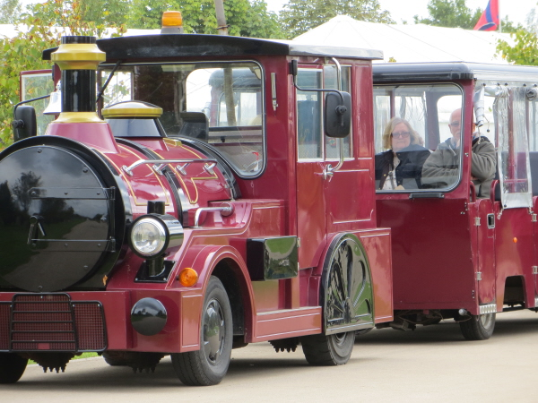 land train at the C:\National Memorial Arboretum